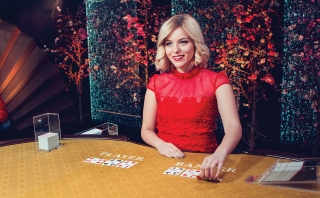 Play Baccarat live with a beautiful live dealer.