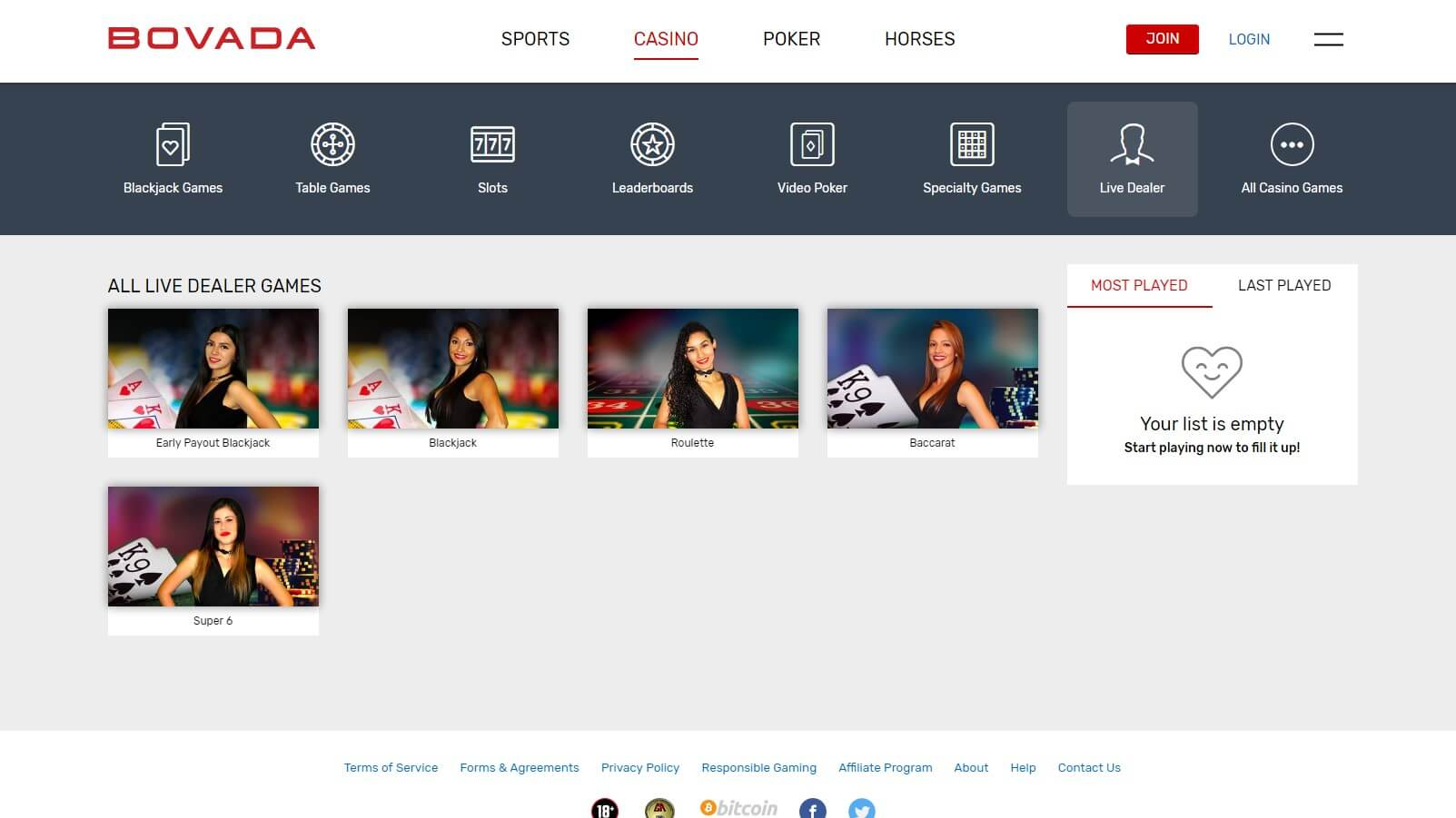 Bovada Casino Review | New Welcome Bonus and Live Dealer Games