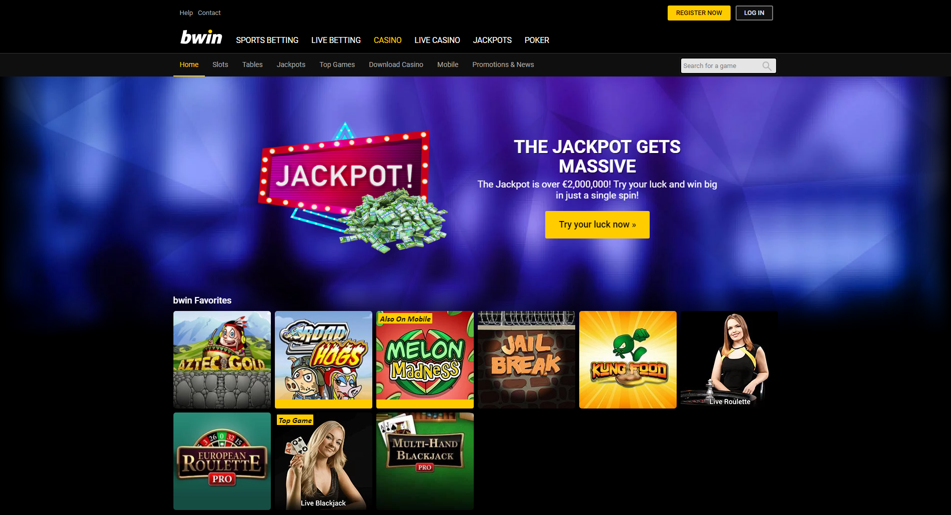 Bwin Online Casino Tricks