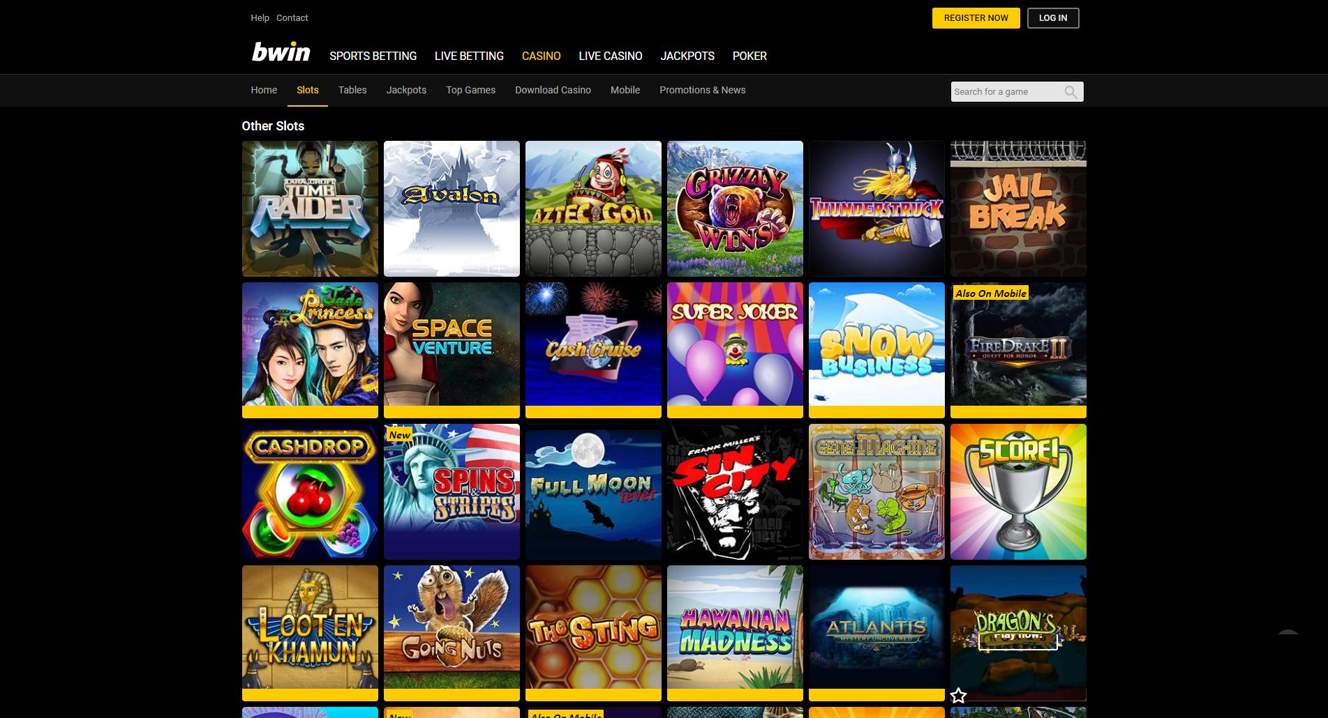 Bwin   Online Wetten Poker Online Casino & Games