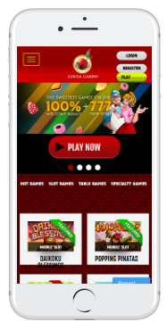 Cocoa Casino is well optimized for mobile play