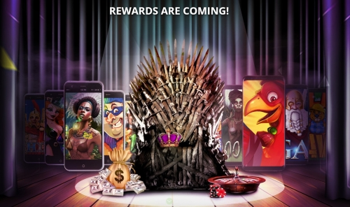 Game of Phones Promotion at Diamond Reels Casino
