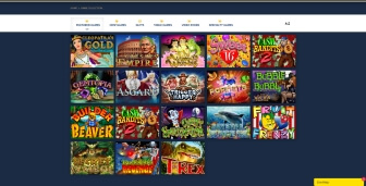 The wide variety of games at Exclusive Casino
