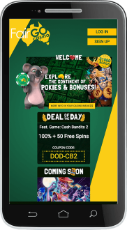 Fair Go Casino mobile website is superbly optimised