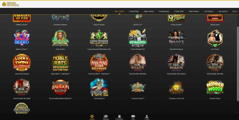 Explore the rich gaming collection at Grand Mondial Casino