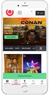 Guts offers excellent mobile casino experience