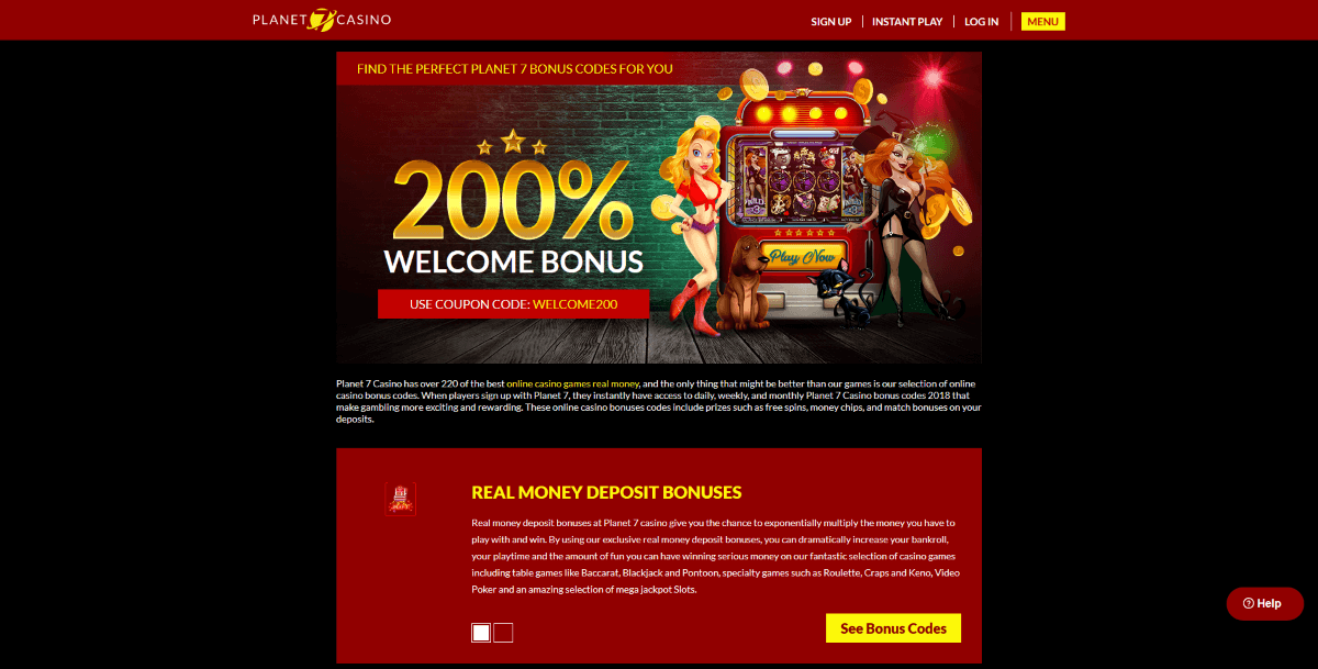Planet 7 Casino Promotions