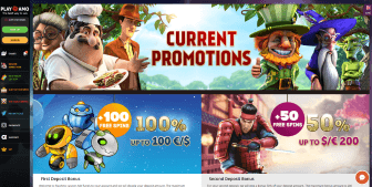 Promo offers available at PlayAmo Casino