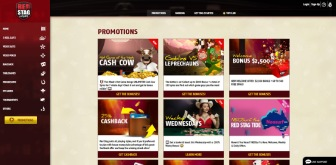 Ongoing casino promotions at RedStag