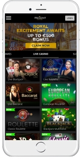 Regent Casino is accessible via the browser of your mobile device
