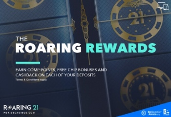 Playing casino games at Roaring21 comes with a bunch of additional perks