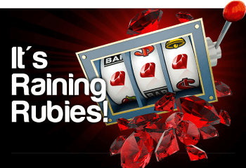 Enjoy deposit matches combined with free spins at Ruby Slots