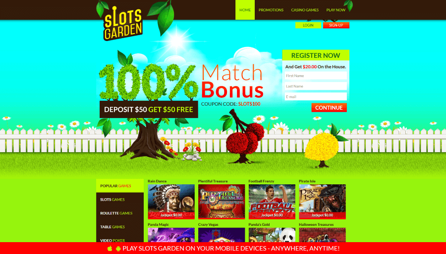 Slot Gardens