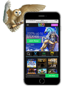 You can try Slots Heaven Casino on both Android and iOS devices