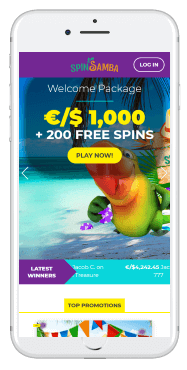 Luckland casino's application is available for all diveces and operating systems
