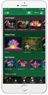 Unibet Casino Mobile