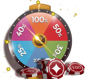 The Weekly Bonus Spin Wheel match your deposit