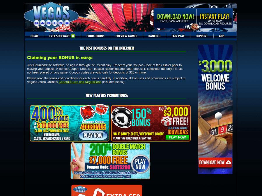 Casino Offers Online