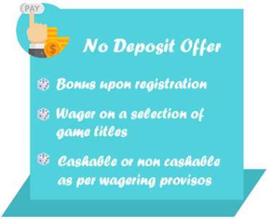 No Deposit Bonuses at Online Casinos