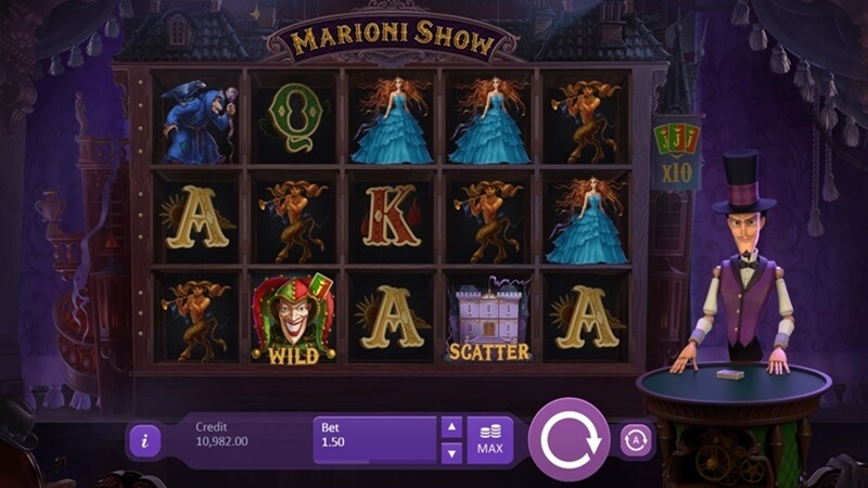 Marioni Show Slot Game