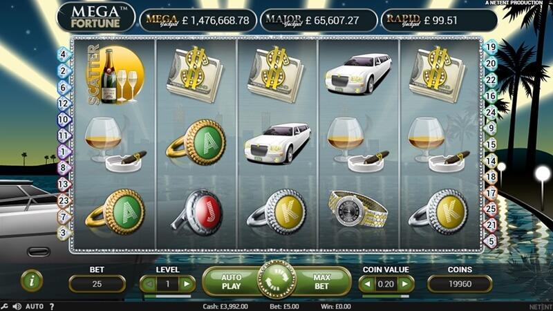 Mega Fortune Slot Game